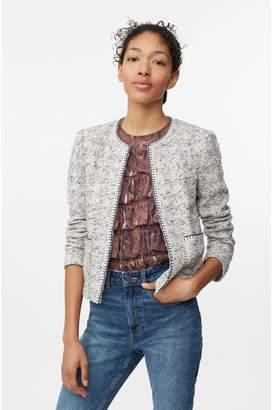 Rebecca Taylor Speckled Tweed Jacket