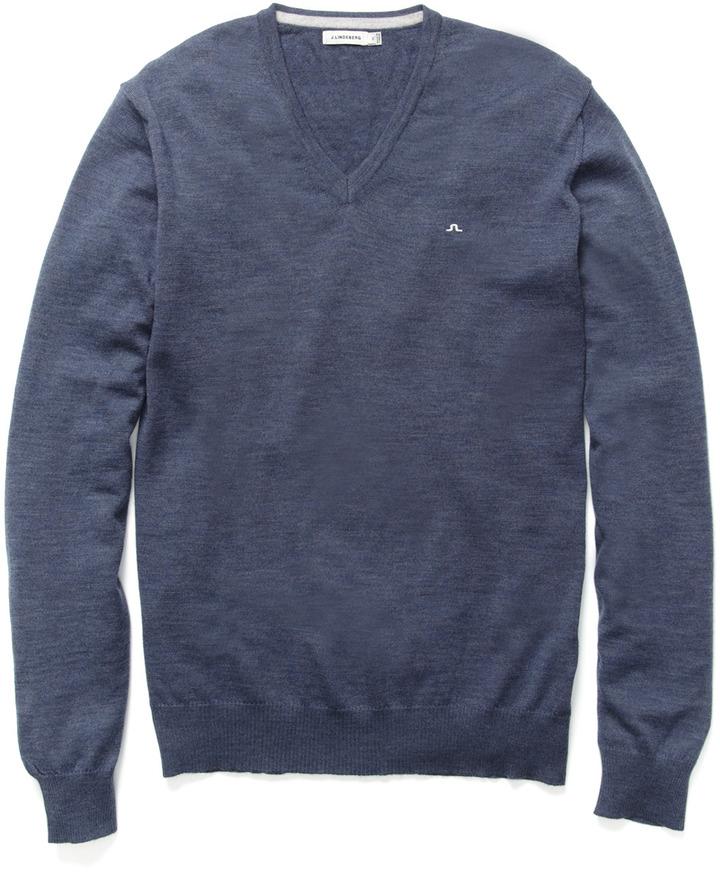 J. Lindeberg Lyman True Merino Knit Sweater