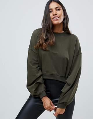 AX Paris sweatshirt with sleeve detail