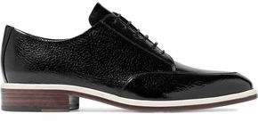 Lanvin Textured-Leather Brogues