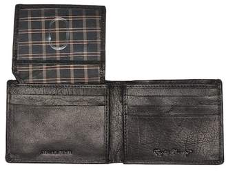 English Laundry Shrunken Leather Passcase Wallet