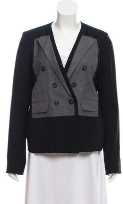 MM6 MAISON MARGIELA Distressed Long Sleeve Blazer
