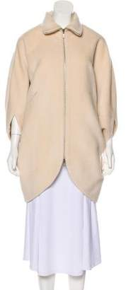 Zero Maria Cornejo Alpaca Short Coat