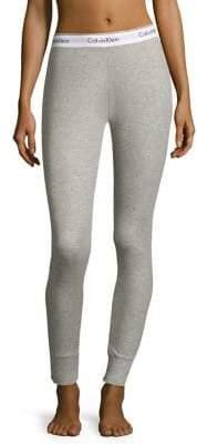 Calvin Klein Ribbed Logo Leggings