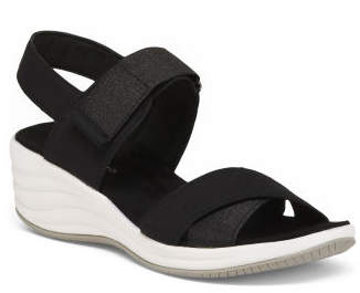 Wide Comfort Wedge Sport Sandals