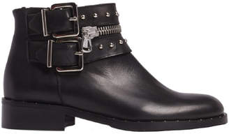 Charles David Chief Leather Bootie
