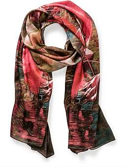 The Two Mrs Grenvilles Floral Scarf