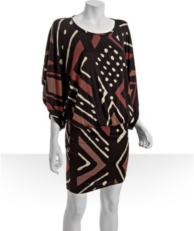 Rachel Pally mali tribal jersey 'Rebecca' dolman sleeve dress