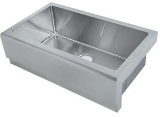 Y Decor Hardy Single Bowl Apron Sink