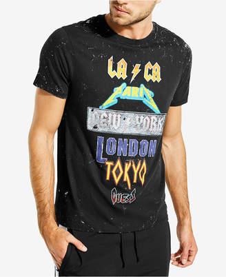 GUESS Men's Rock City Graphic T-Shirt