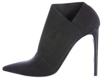 Balenciaga Balenciaga Elasticized Pointed-Toe Booties