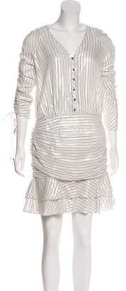 Veronica Beard Striped Knee-Length Dress w/ Tags
