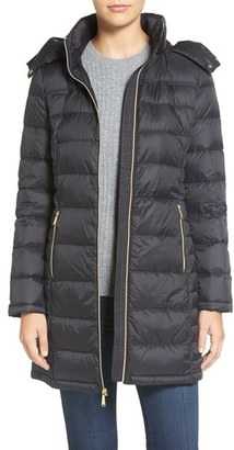 Women's Michael Michael Kors Packable Quilted Down Coat $210 thestylecure.com