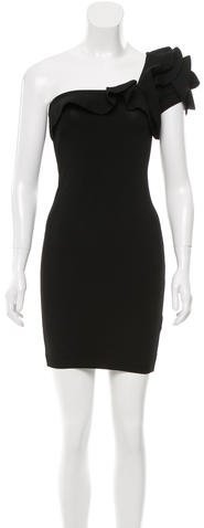 ValentinoValentino Fitted One-Shoulder Dress