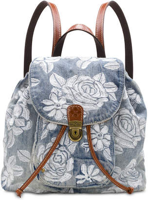 Patricia Nash Casape Denim Backpack