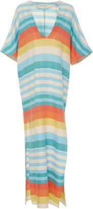 Mara Hoffman Striped Cotton-Gauze Dress $310 thestylecure.com