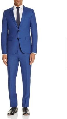 HUGO Micro Box Check Slim Fit Suit $695 thestylecure.com