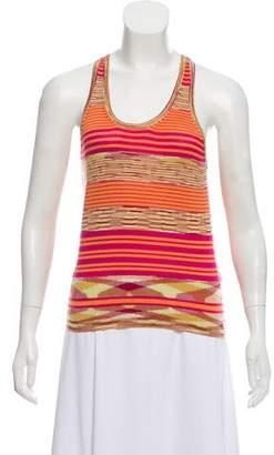 Missoni Striped Cashmere Top