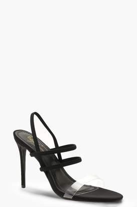 662ae21b617ef2 Clear Strap Heels - ShopStyle UK