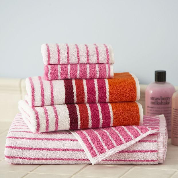 Horizontal Stripe Towel