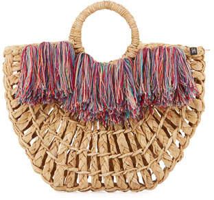 Nannacay - Cotio Maria Leque Fringe Large Tote Bag