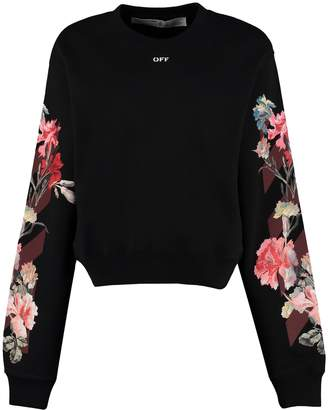 Off-White Off White Printed Crew-neck Sweatshirt