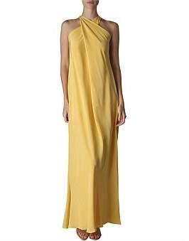 Bianca Spender Sunshine Silk Cdc Reflection Gown