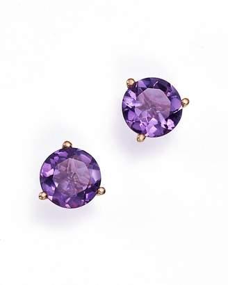 Bloomingdale's Amethyst Stud Earrings in 14K Rose Gold - 100% Exclusive