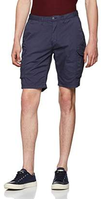 Scotch & Soda Men's Garment Dyed Cargo Short in Stretch Cotton Quality