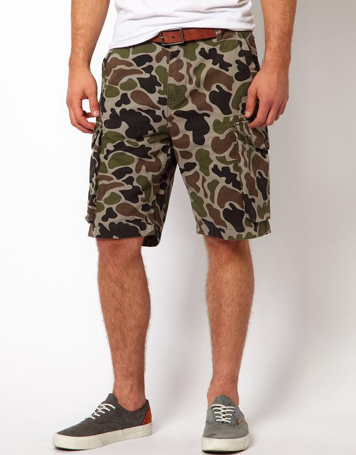Addict Cargo Shorts Sentry Camo Ripstop