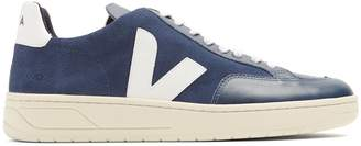 Veja V-12 low-top suede and leather trainers