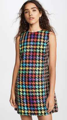 Alice + Olivia Coley Crew Neck Dress