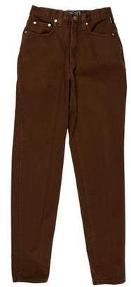 Versace Five-Pocket Skinny Pants