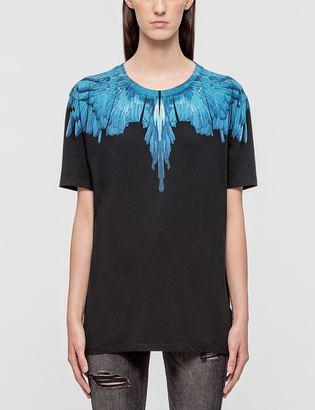 Marcelo Burlon Silveria Ss T-shirt $185 thestylecure.com