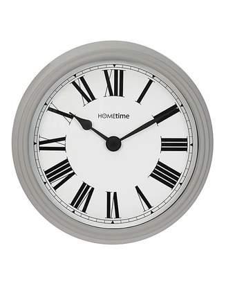 Fashion World Hometime Wall Clock Roman Dial Grey
