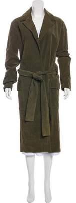 Simon Miller Leather Long Coat
