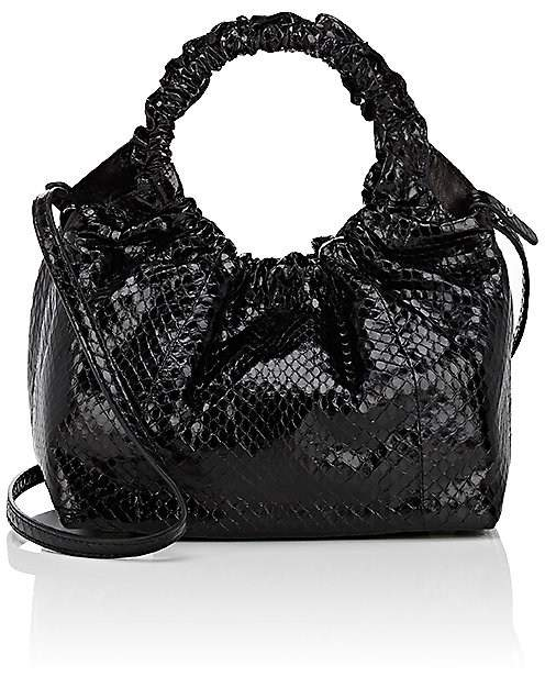 The Row Women's Double-Circle Python Small Bag