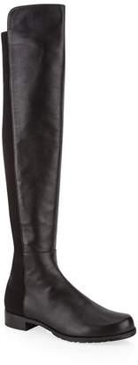 Stuart Weitzman Leather 5050 Over-The-Knee Boots