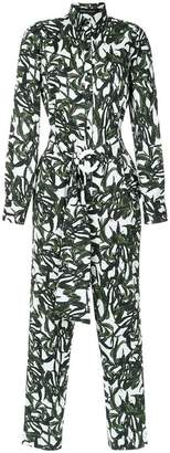 Andrea Marques shirt style jumpsuit
