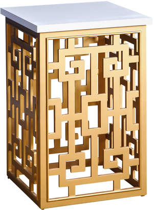 Abbyson Living Maise Gold End Table