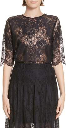 Roseanna Martial Lace Top