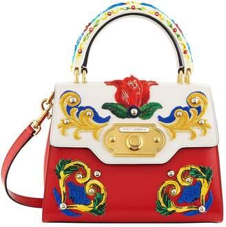 Dolce & Gabbana Welcome Majolica Top Handle Bag