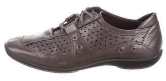 Stuart Weitzman Leather Low-Top Sneakers