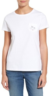 Women's Vineyard Vines Easter Whale Tee $49.50 thestylecure.com