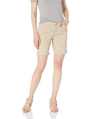Lee Women's Petite Regular Fit Chino Bermuda Short