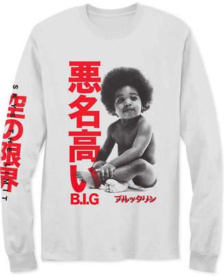 The Notorious B.i.g. Kanji Biggie Baby Men Graphic T-Shirt