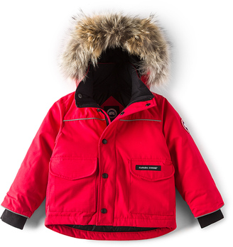 Canada Goose Lynx Coyote Fur Trim Parka $445 thestylecure.com
