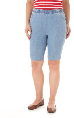 Chic Women's Pull-On Shorts with Elastic Waistband
