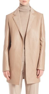 Ralph Lauren Collection Addison Bonded Leather Coat $4,990 thestylecure.com