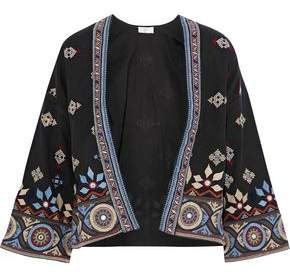 Joie Brianny Embellished Cotton-Blend Twill Jacket